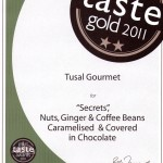 Gold Great Taste Award 2011 Tusal Gourmet